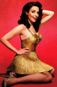 tina-fey-gold-dress